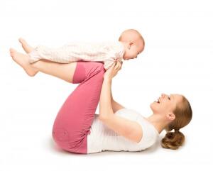 Mum and Baby Yoga ireland